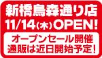 新橋烏森通り店OPEN!