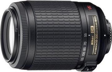 NikonAF-S DX VR Zoom Nikkor ED 55-200mm F4-5.6G (IF)