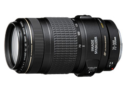 CanonEF 70-300mm F4-5.6 IS USM