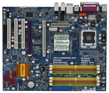 ASRock4Core1600P35-WiFi P35/LGA775