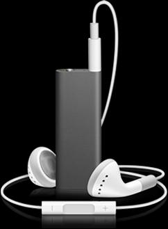 AppleiPod Shuffle 4GB (Black) MC164J/A
