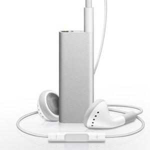 AppleiPod Shuffle 4GB (Silver) MC867J/B
