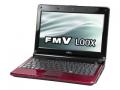 FujitsuFMV-BIBLO LOOX M M/E10 FMVLME10R ルビーレッド