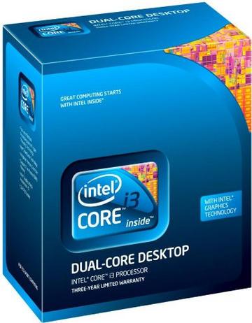 IntelCore i3-540(3.06GHz) BOX LGA1156/2C/4T/L3 4M/GPU 733MHz/TDP73W