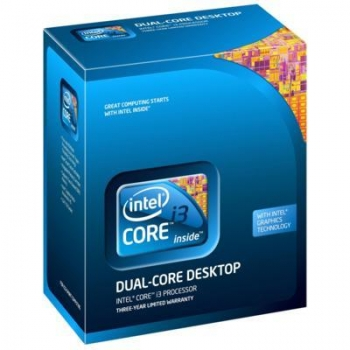 Intel Core i3-530(2.93GHz) BOX LGA1156/2C/4T/L3 4M/GPU 733MHz/TDP73W