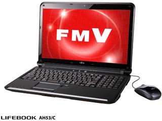 FujitsuFMV-LIFEBOOK AH53/C (FMVA53CB/シャイニーブラック)