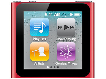 Apple iPod nano 16GB (2010/レッド) MC699J/A 第6世代