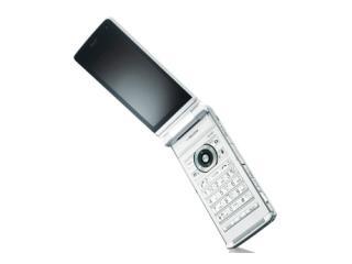 CASIOdocomo FOMA PRIME series EXILIMケータイ CA-01C pearl white AAN08928