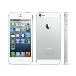 Apple SoftBank iPhone 5 32GB ホワイト&シルバー MD300J/A