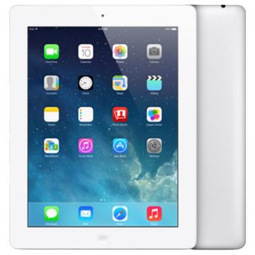 au iPad(第4世代) Wi-Fi+Cellular 16GB ホワイト MD525J/A