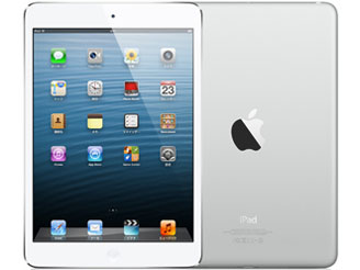 Apple au iPad mini Cellular 64GB ホワイト&シルバー MD545J/A