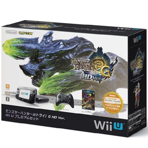 NintendoWii U プレミアムセット モンスターハンター3(トライ)G HD同梱版 WUP-S-KAFD