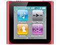 AppleiPod nano 8GB (2010/RED) MC693J/A 第6世代