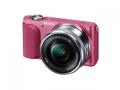 SONY NEX-3NL(P) パワーズームレンズキット ピンク