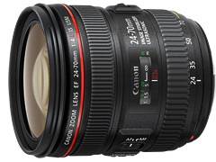 CanonEF 24-70mm F4L IS USM