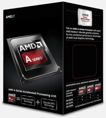 AMDA10-6800K(4.1GHz/TC:4.4GHz) BOX FM2/4C/L2 4MB/HD8670D 844MHz/TDP100W