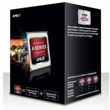 AMD A8-6500(3.5GHz/TC:4.1GHz) BOX FM2/4C/L2 4MB/HD8570D 800MHz/TDP65W