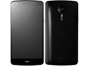 LG電子au isai LGL22 Black