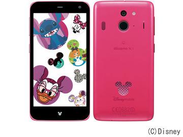Fujitsudocomo Disney Mobile on docomo F-03F Pink