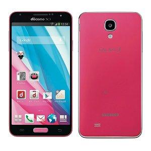 SAMSUNGdocomo GALAXY J SC-02F Coral Pink