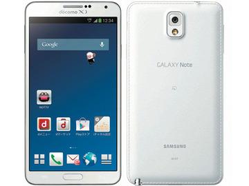 SAMSUNGdocomo GALAXY Note3 SC-01F Classic White