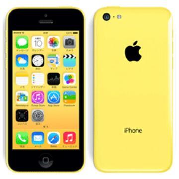 AppleiPhone 5c 32GB イエロー(国内版SIMロックフリー) MF150J/A