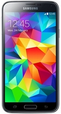 SAMSUNGGALAXY S5 SM-G900F LTE 16GB Electric Blue(海外携帯)