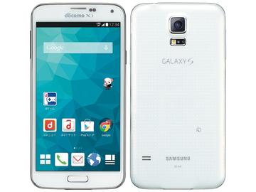 SAMSUNGdocomo GALAXY S5 SC-04F shimmery WHITE