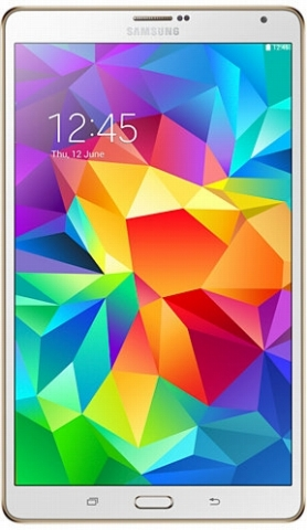 SAMSUNGGALAXY Tab S 8.4 Wi-Fi SM-T700NZWAXJP 16GB Dazzling White