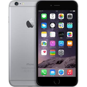 AppleiPhone 6 Plus 128GB スペースグレイ (国内版SIMロックフリー) MGAC2J/A