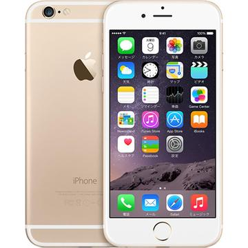 Apple SoftBank iPhone 6 128GB ゴールド MG4E2J/A