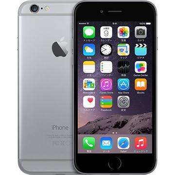 AppleSoftBank iPhone 6 64GB スペースグレイ MG4F2J/A