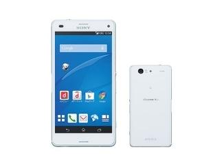 docomo Xperia Z3 Compact SO-02G White ASO89933