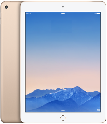 au iPad Air2 Cellular 64GB ゴールド MH172J/A