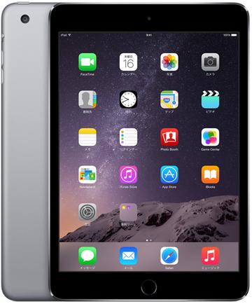 SoftBank iPad mini3 Cellular 128GB スペースグレイ MGJ22J/A