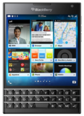 BlackBerryBlackBerry Passport LTE SQW100-1 Black RGY181LW