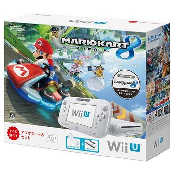 NintendoWii U すぐに遊べるマリオカート8セット shiro WUP-S-WAGH