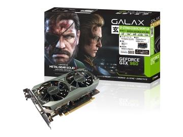玄人志向GF-GTX960-E2GB/OC/SHORT-GA GTX960/2GB(GDDR5)/PCI-E