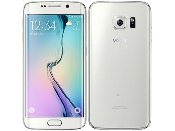 SAMSUNGau GALAXY S6 edge SCV31 32GB White Pearl