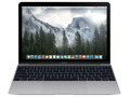 Apple MacBook 12インチ 256GB スペースグレイ MJY32J/A (Early 2015)