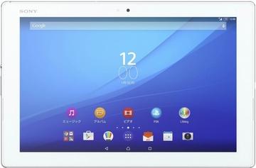 SONYau Xperia Z4 Tablet SOT31 ホワイト