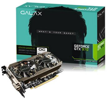 GALAX(GALAXY)GF PGTX970-OC/4GD5 MINI GTX970/4GB(3.5G+0.5G)/PCI-E/OC版