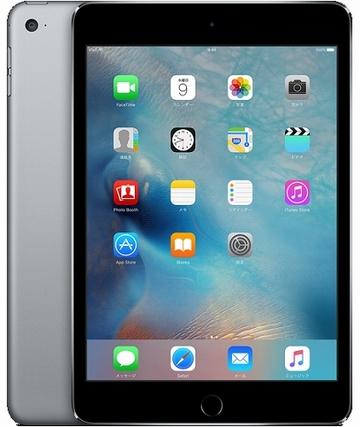 iPad mini4 Wi-Fiモデル 16GB スペースグレイ MK6J2J/A