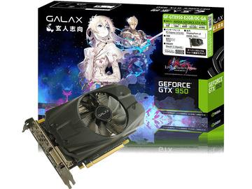 玄人志向GF-GTX950-E2GB/OC-GA GTX950/2GB(GDDR5)/PCI-E