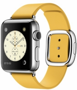 AppleApple Watch 38mm ステンレススチール/マリーゴールドモダンバックル Sサイズ MMFD2J/A