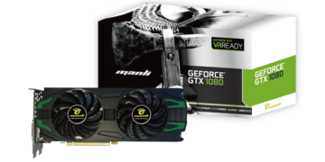 ManliGeForce GTX 1080 with Twin Cooler(M-NGTX1080/5RGHDPPP) GTX1080/8GB(GDDR5X)/PCI-E