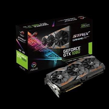 ASUSROG STRIX-GTX1080-O8G-GAMING GTX1080/8GB(GDDR5X)/PCI-E