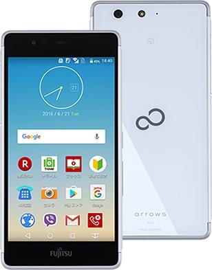 Fujitsu【SIMフリー】 arrows M03 White FARM06106