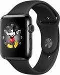 Apple Apple Watch Series2 42mmスペースブラックステンレススチール/ブラックスポーツバンド MP4E2J/A