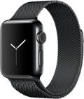 AppleApple Watch Series2 38mmスペースブラックステンレススチール/スペースブラックミラネーゼループ MNTM2J/A